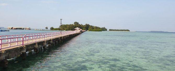 spot foto Pulau Tidung
