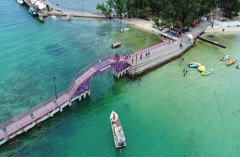 jembatan cinta pulau tidung jakarta